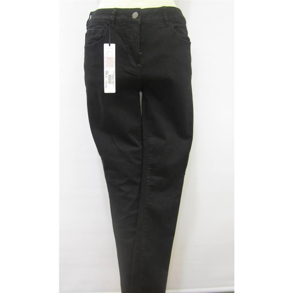 5603761fc17 BNWT Ladies  black Jeans Gok Wan for TU - Size  12 - Black. Loading zoom