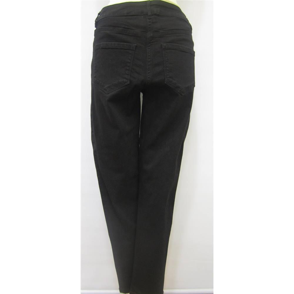 25fcd593c70 BNWT Ladies  black Jeans Gok Wan for TU - Size  12 - Black