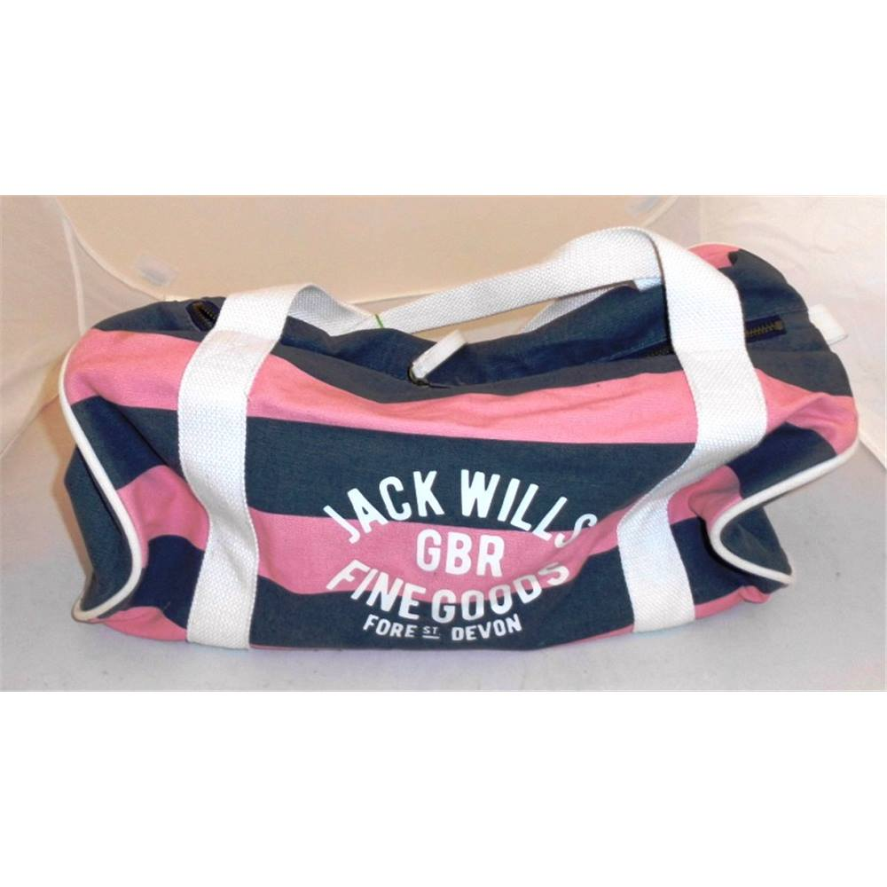 b7a8fb894e9f4f Jack Wills gym bag Jack Wills - Size: One size - Pink | Oxfam GB ...