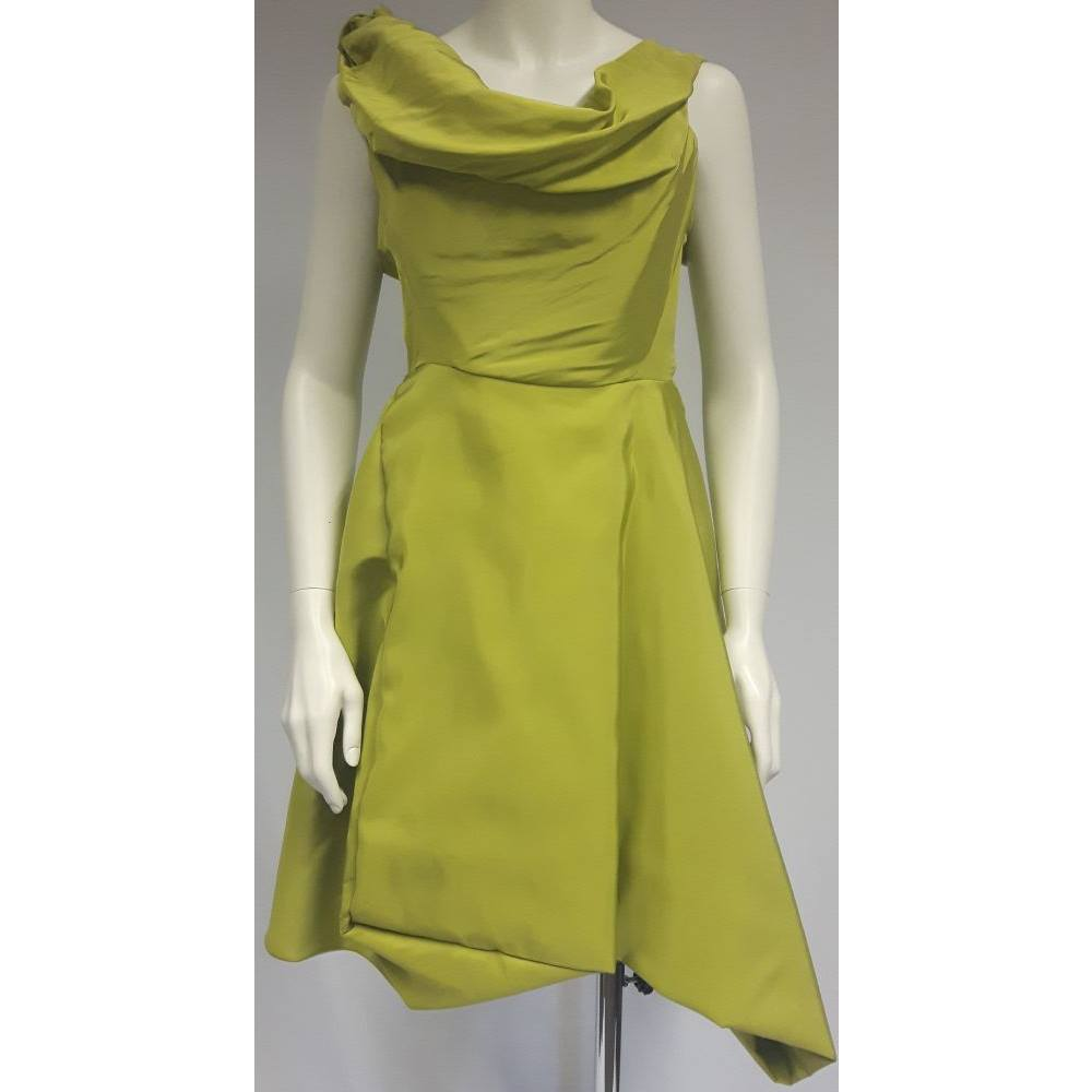 7877b129253 Vivienne Westwood - size 10, lime green evening dress | Oxfam GB ...