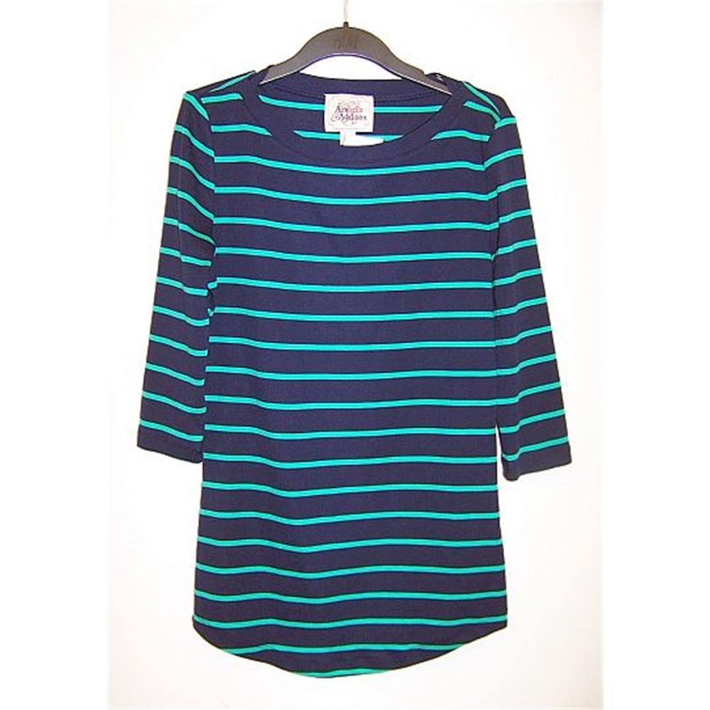 Arabella & Addison - Size: M - Multi-coloured - Short sleeved shirt ...