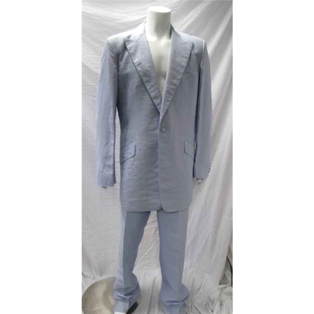 1c65c49929fd William Hunt Size 42 Pale Blue Suit William Hunt - Size: L - Blue