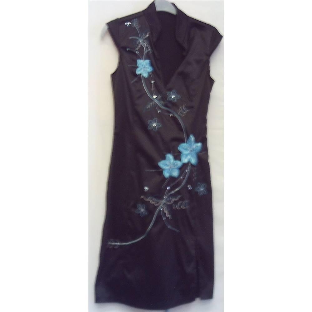 Jane Norman Dress Size 10 Black Loading Zoom