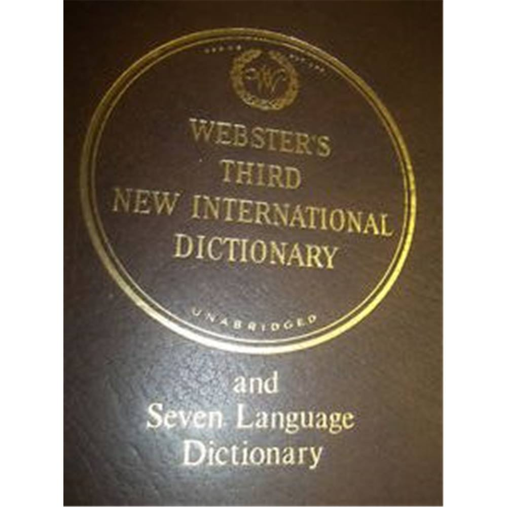 Webster's Third New International Dictionary of the English Language  Unabridged with Seven Language Dictionary - 3. Loading zoom