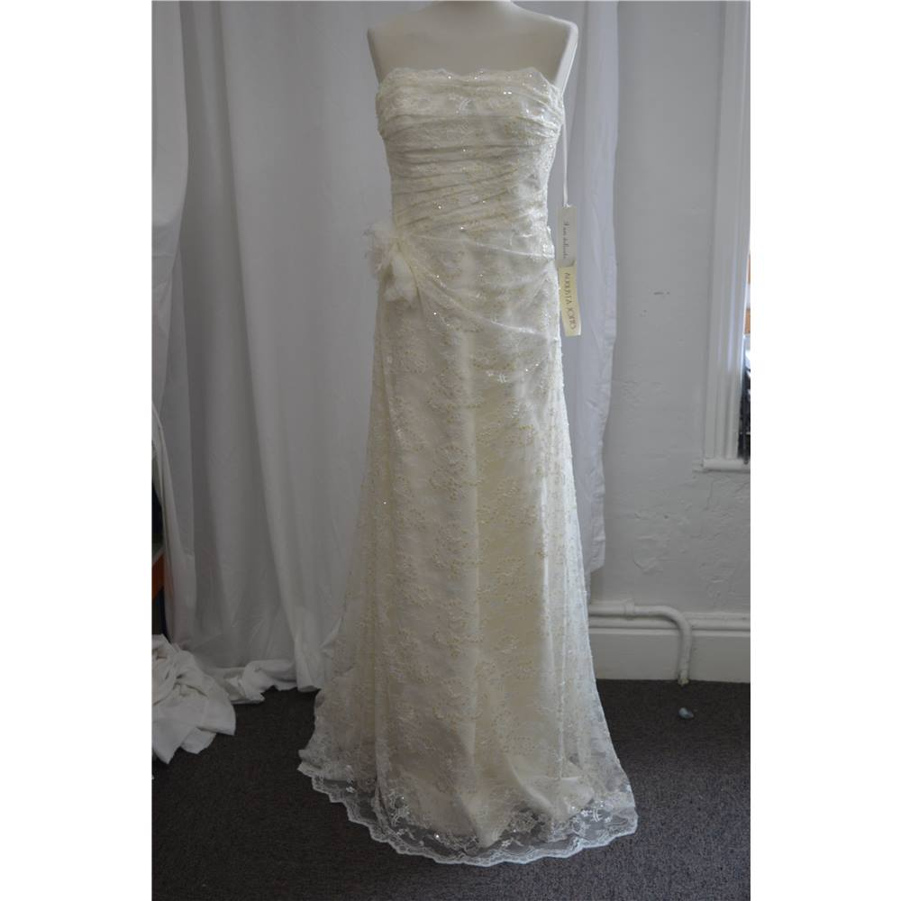 Wedding Dresses Size 14 Cream