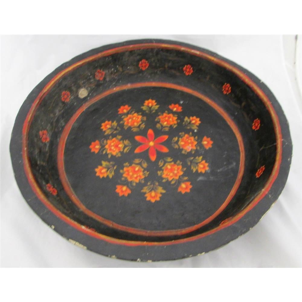 Painted Paper Mache Bowl. Loading zoom  sc 1 st  Oxfam GB & Painted Paper Mache Bowl | Oxfam GB | Oxfamu0027s Online Shop
