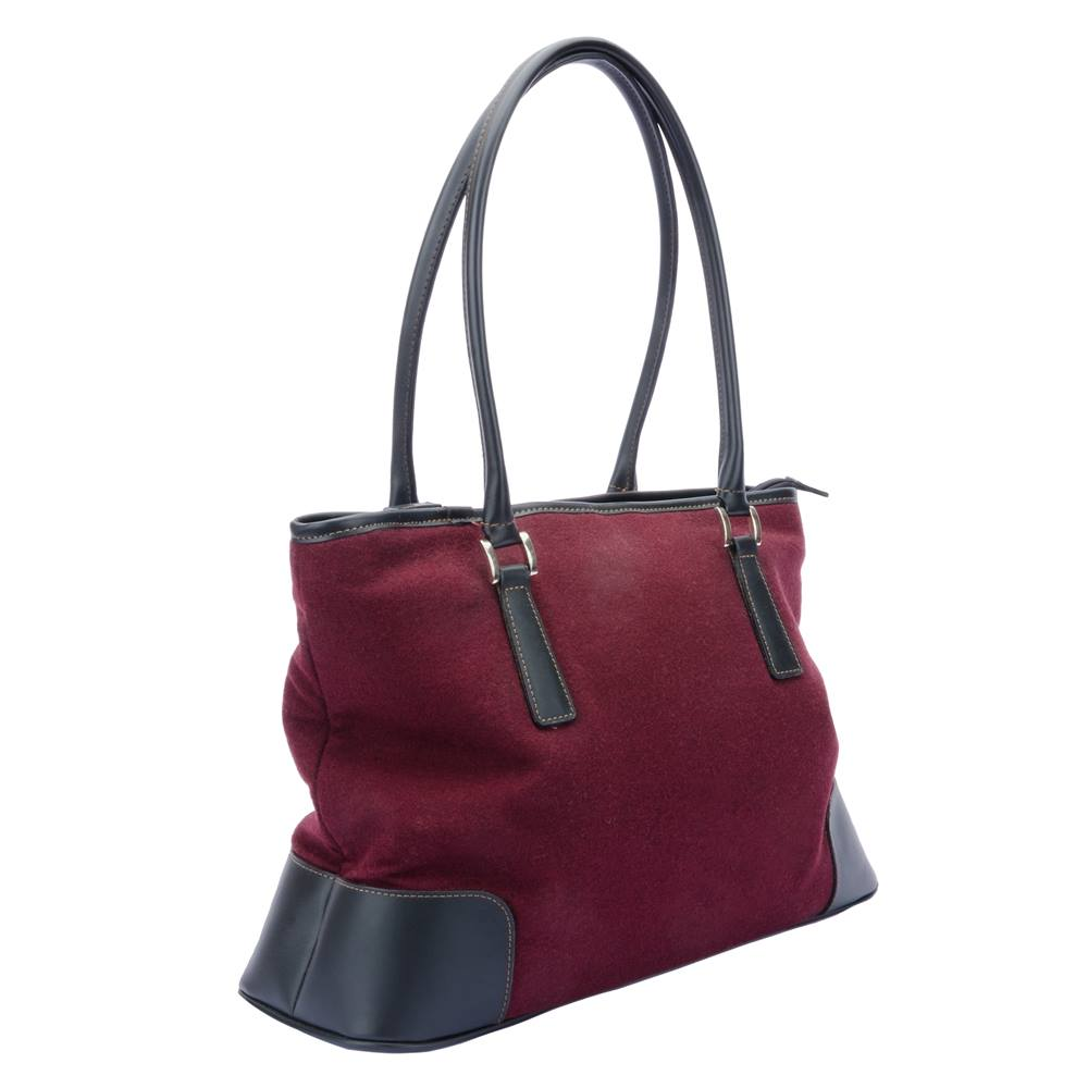 Claire Langford England - Maroon - Handbag   Shoulder Bag. Loading zoom 2fdfb9b233173