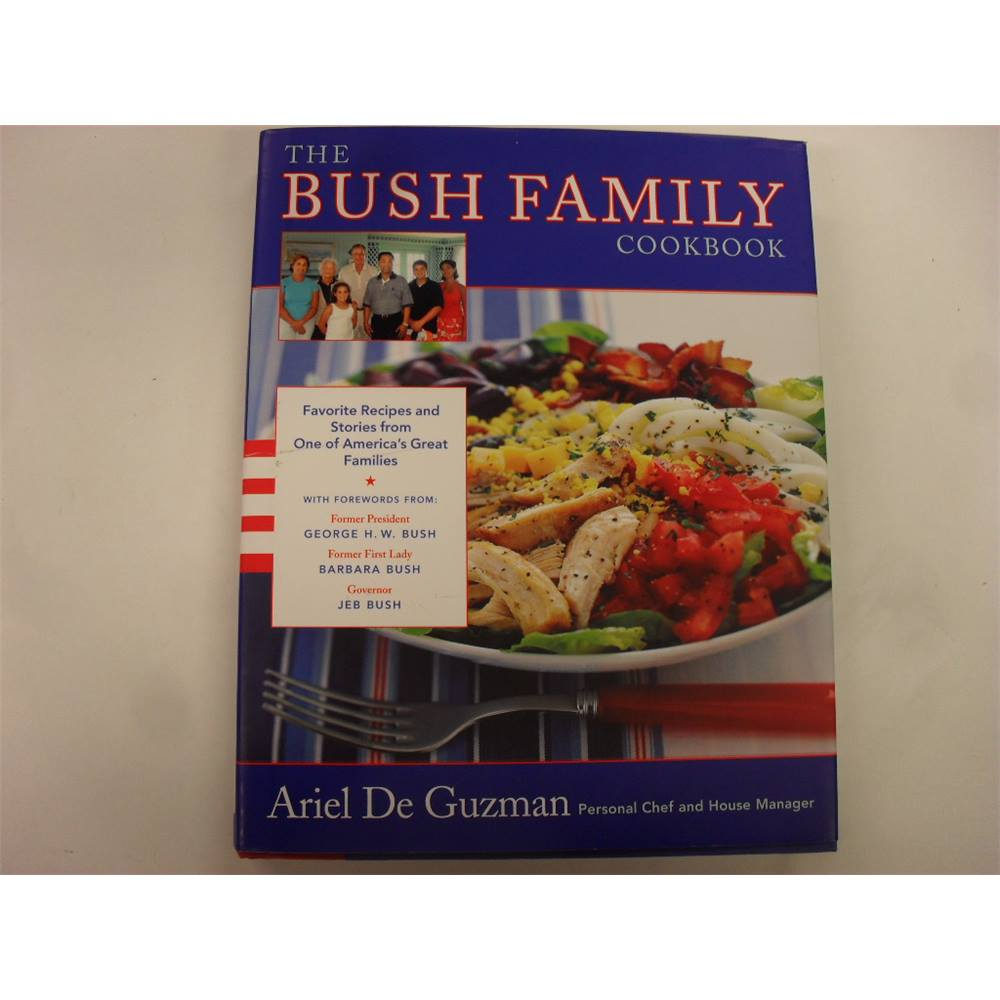 Preview of the first image of The Bush Family Cookbook.