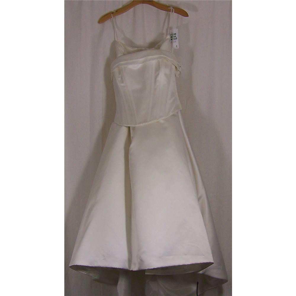 Jasper Conran - Size: 10 - Cream / ivory - A-line 2 piece wedding ...