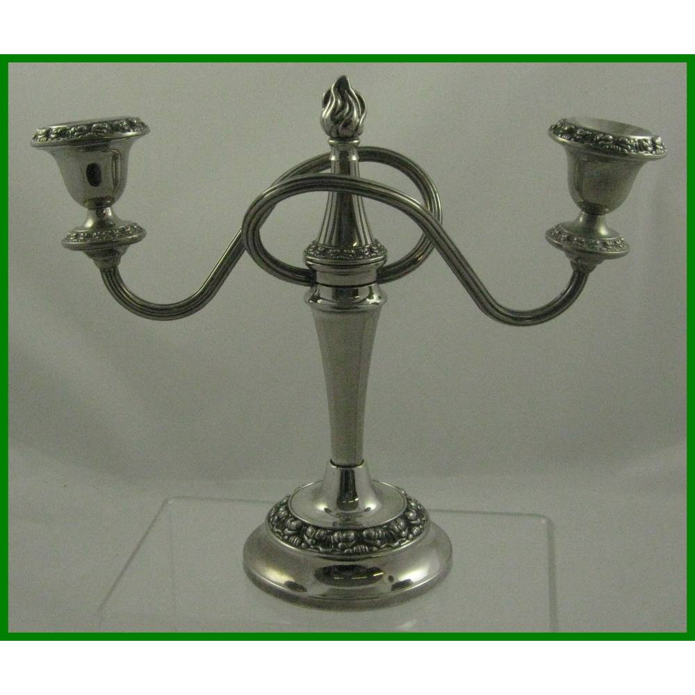 14bc01558f4 Ianthe - silver plate candle - double candelabra | Oxfam GB | Oxfam's ...