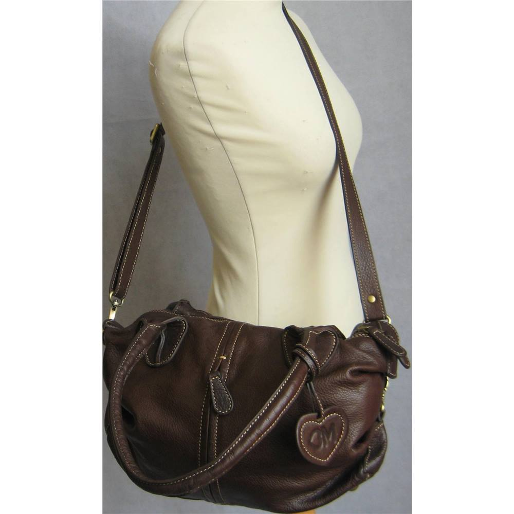 324db5e0b807 Blondie Mania Brown Leather Tote Bag Blondie Mania - Size  One size - Brown  -. Loading zoom