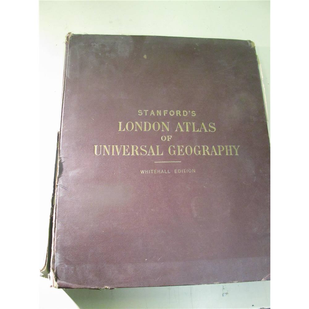 Stanford's London Atlas of Universal Geography   Oxfam GB   Oxfam's Online  Shop