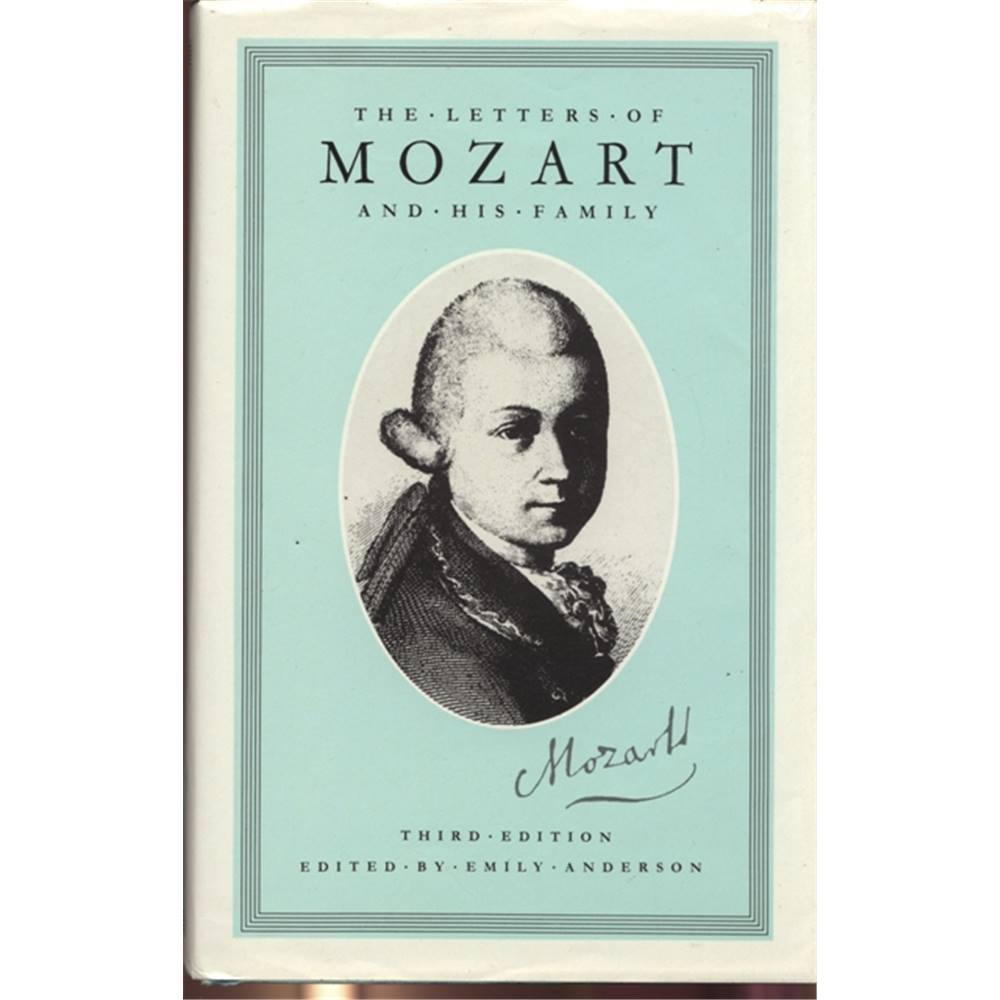 Mozart Lettere: The Letters Of Mozart And His Family 1986 Boxed