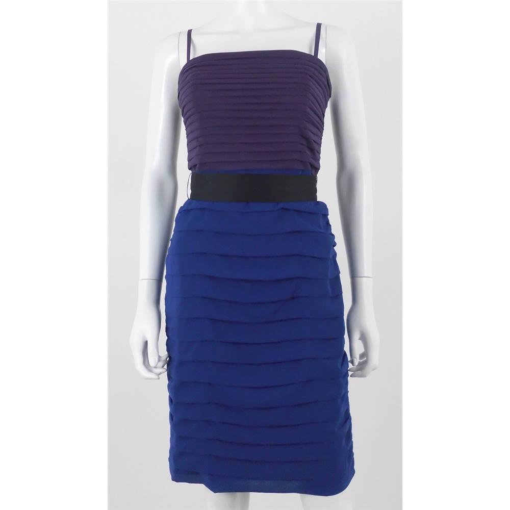 Royal Blue Pencil Dress