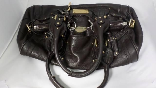 Chloe Paddington Brown Shoulder bag with defects  d1d46f4d1