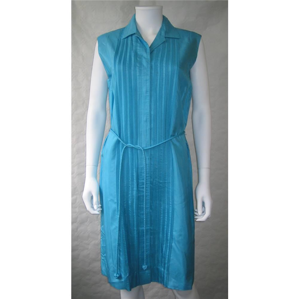 Turquoise Dress Size 18