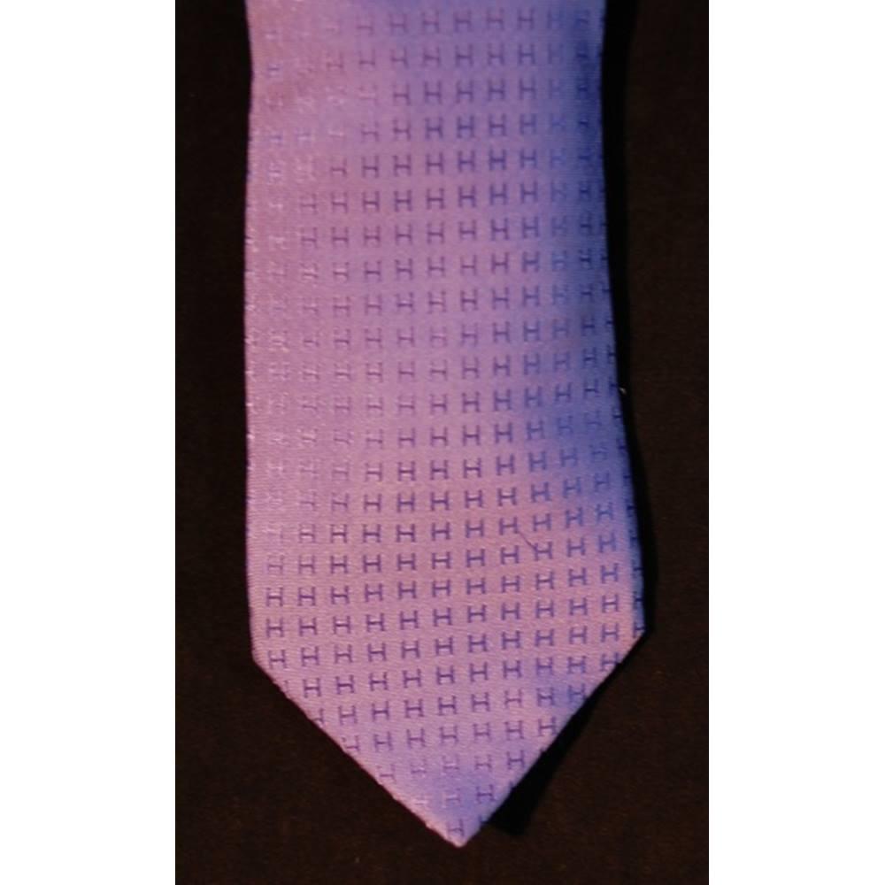 168ca93e6f7bf Hermes 100% Silk Tie