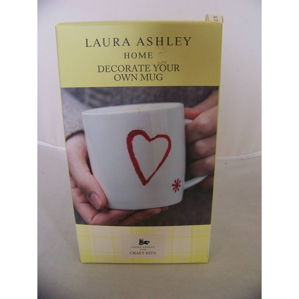 Bnib Laura Ashley Home Decorate Your Own Mug Kit Includes Mug