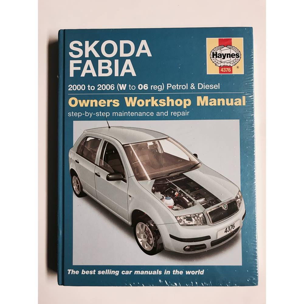 skoda fabia owners workshop manual oxfam gb oxfam s online shop rh oxfam org uk Isuzu NPR Manual Peugeot Partner Manual