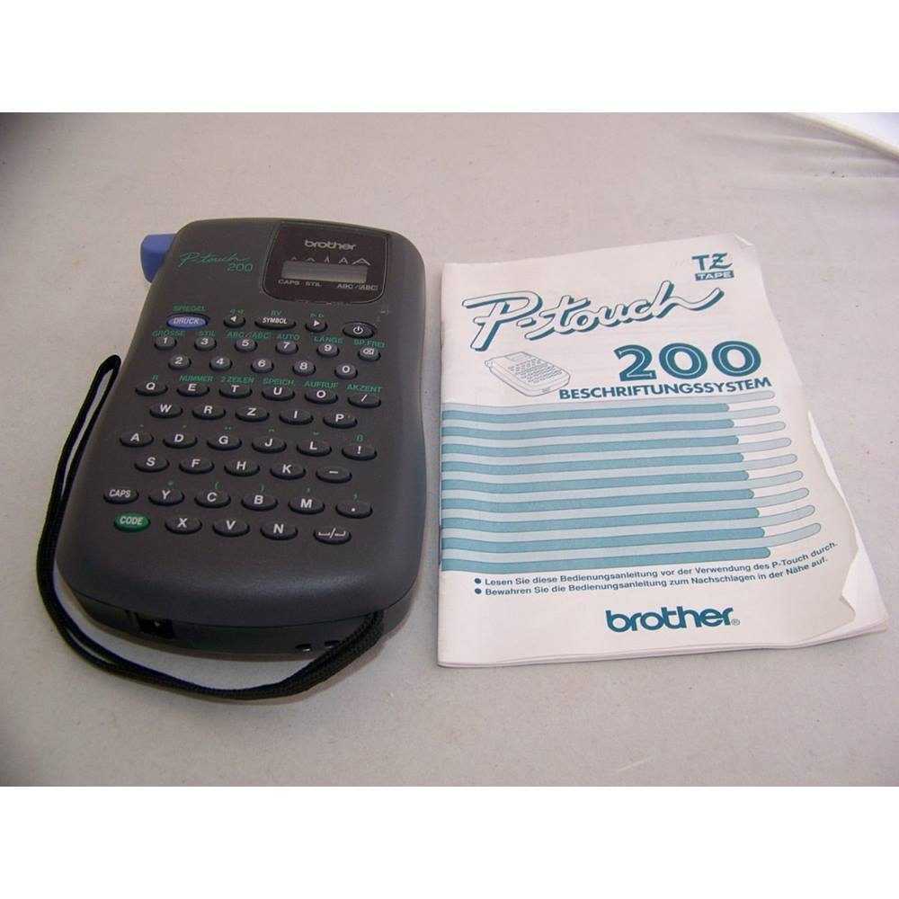 Brother P Touch Pt 200 Label Printer Oxfam Gb Oxfams Online Shop
