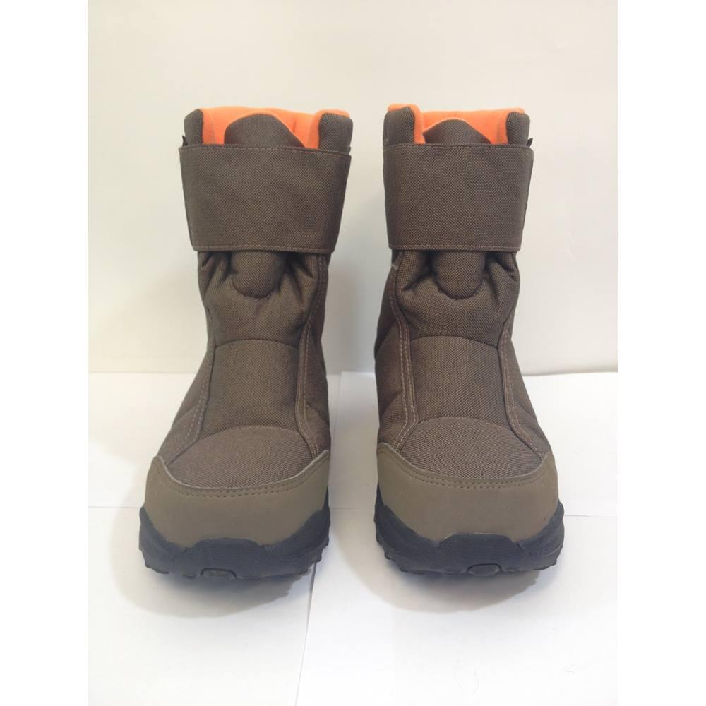 d7eb960fe76 Quechua Novadry boots - Toffee - size 36 EU/ 3 UK Quechua - Size: 3 -  Orange | Oxfam GB | Oxfam's Online Shop