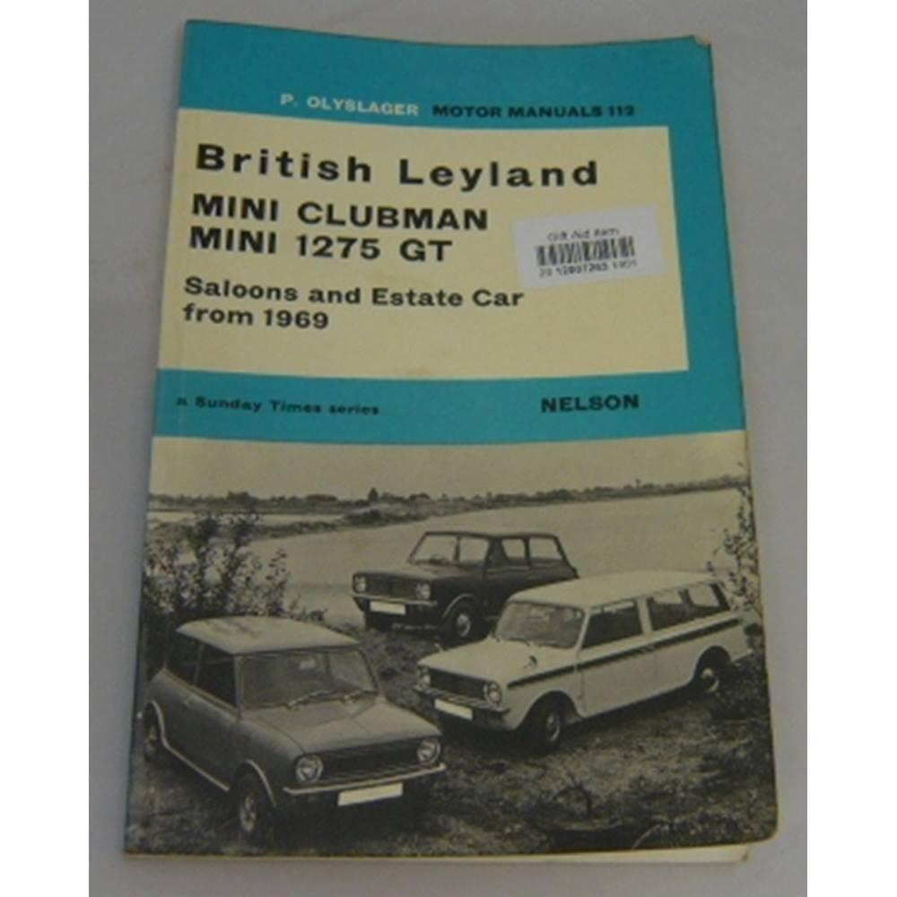 Motoring Manual 112 British Leyland Mini Clubman Mini 1275 Gt