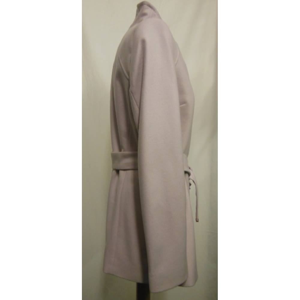 bce45b652 Women s Coat Ted Baker - Size  4 - Nude Pink - Casual jacket   coat.  Loading zoom