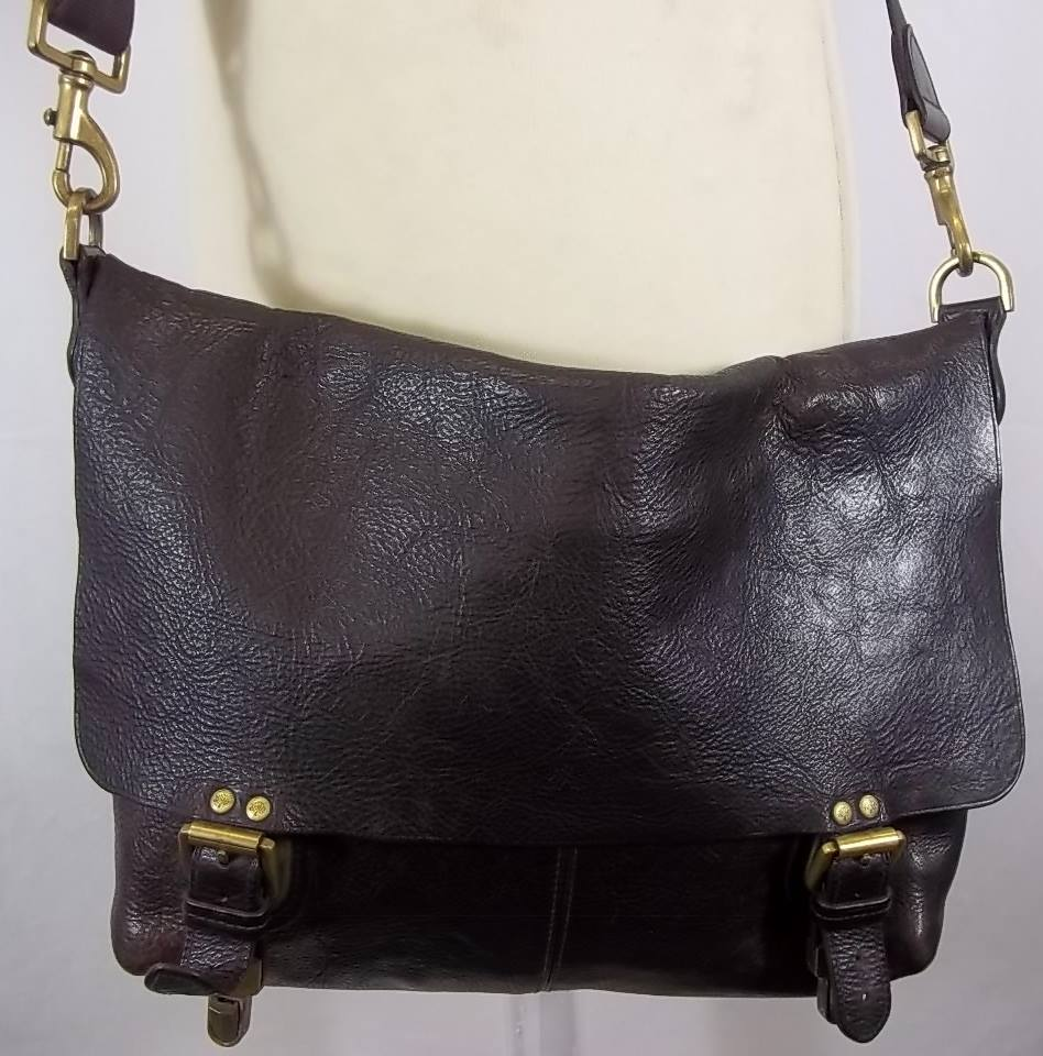 Mulberry brown leather Messenger   Cross body bag. Loading zoom 05f60979da810