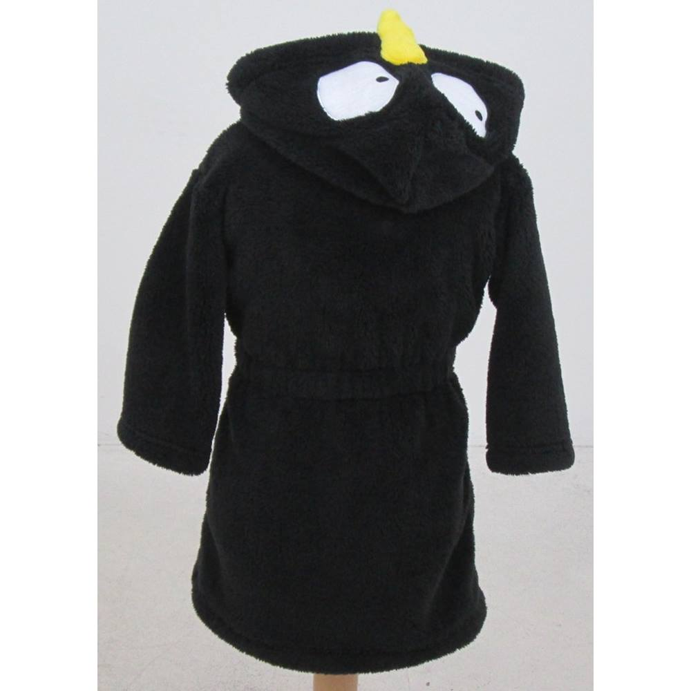 NWOT M&S Kids, size 2-3 years black hooded penguin dressing gown ...