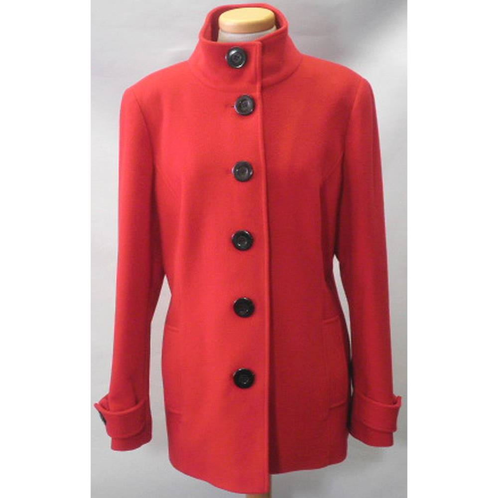 Planet ladies size: 14 red coat | Oxfam GB | Oxfam's Online Shop