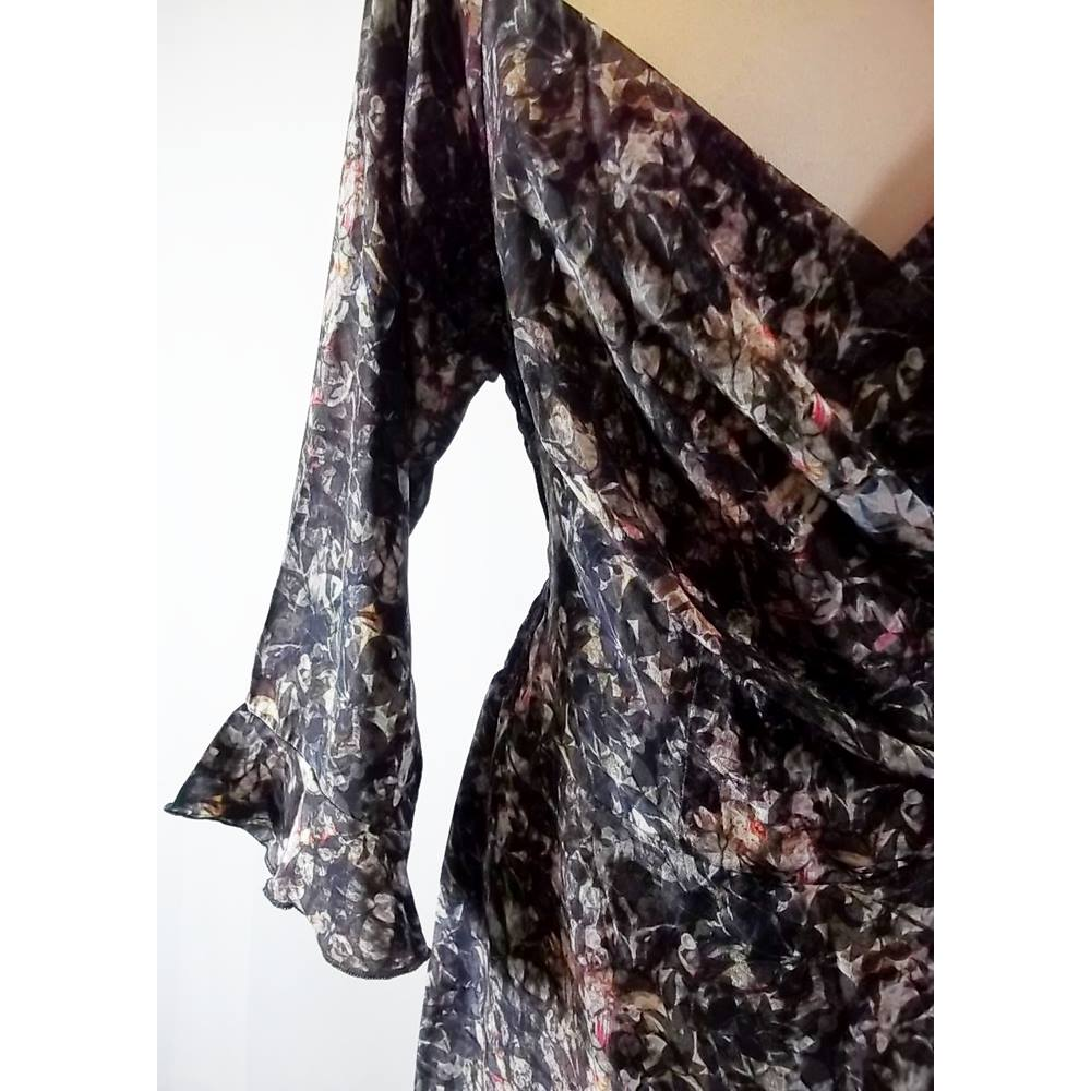 f4c251d87ba Bombshell by KATYA WILDMAN - Multi-coloured - Knee length LIBERTY SILK DRESS  - size