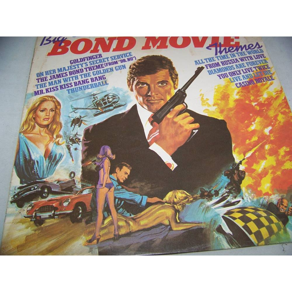 Big Bond Movie Themes Geoff Love and his orchestra - mfp 50227 | Oxfam GB |  Oxfam's Online Shop