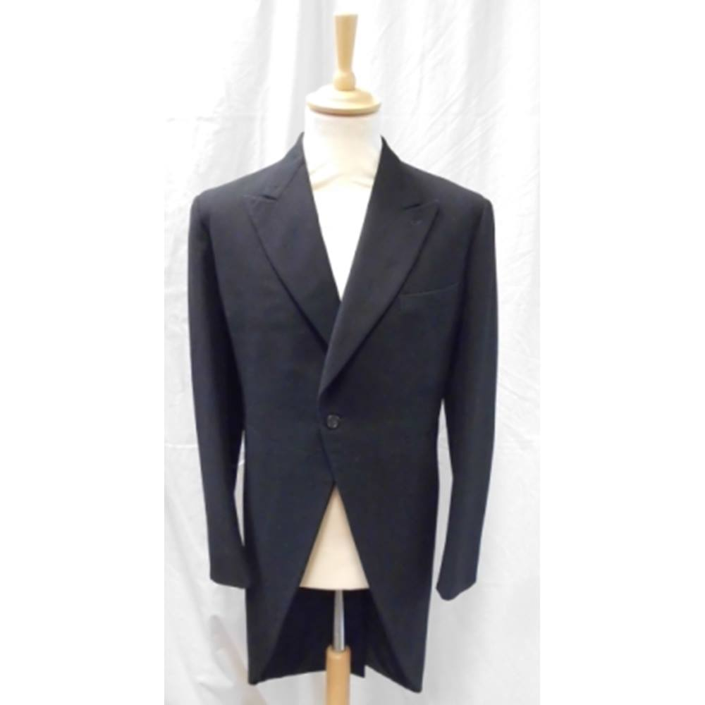 """R   B – Size 40"""" – Black – Morning suit tail coat. Loading zoom 6e3addc8a"""