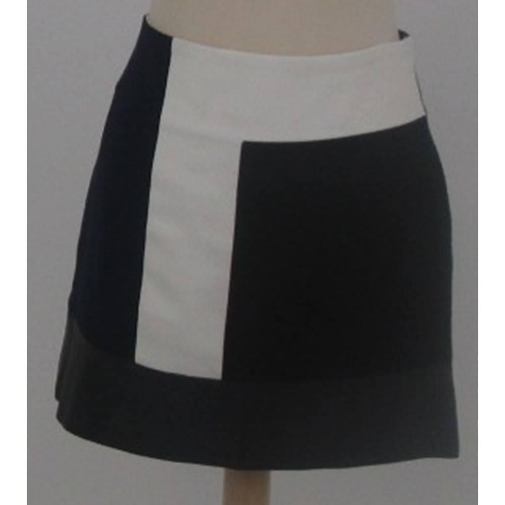 db8de3f7e Zara Black Leather Mini Skirt