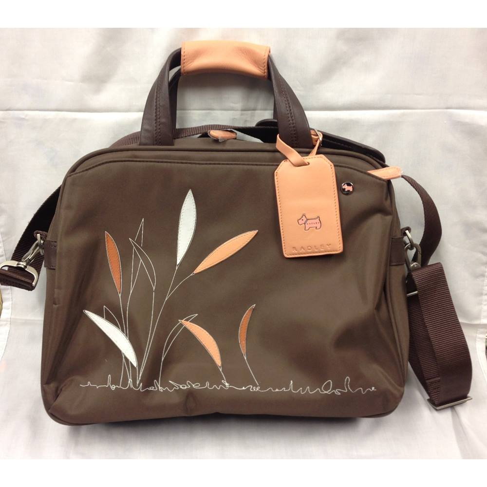 Radley Laptop Bag Size One Brown Loading Zoom
