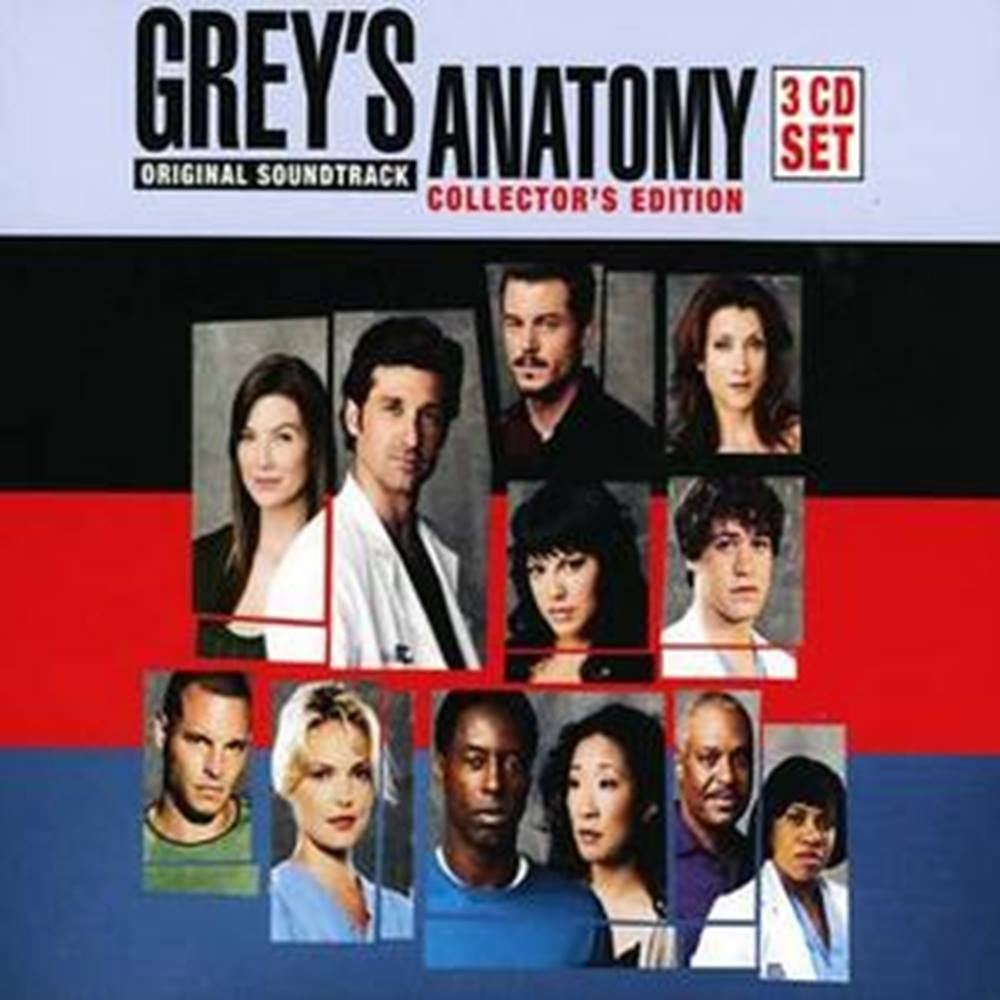 Grey\'s Anatomy (3 CDs) 50999 5 10661 2 3 Original Soundtrack ...