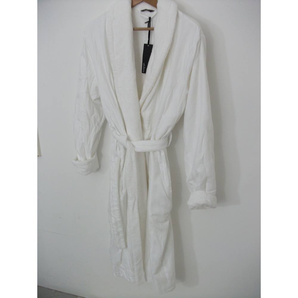 Marks & Spencer Autograph Towelling Dressing Gown Size 12 - 14 ...