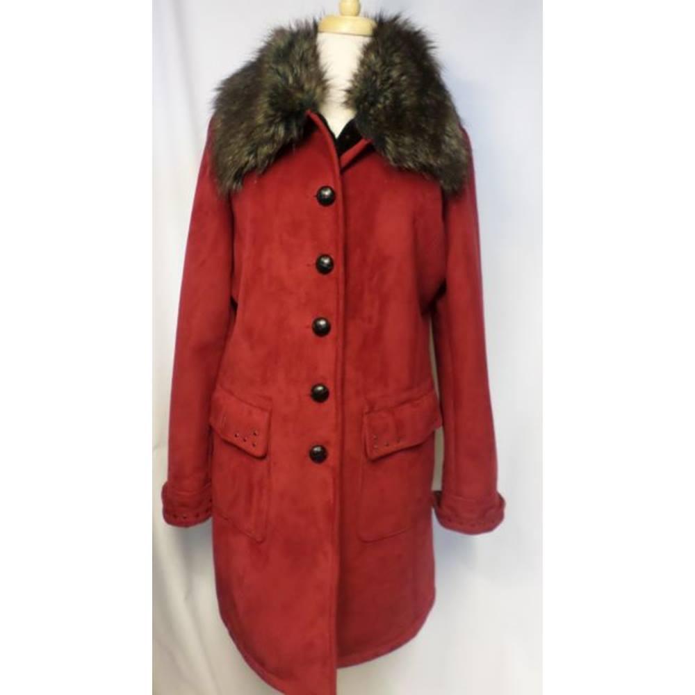 949a0d0f2f2b8 Centigrade - Size  M - Red - Smart jacket   coat