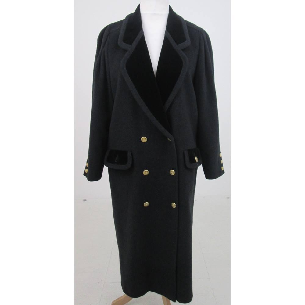 f0262cbf7ba Mansfield Size 14 charcoal-grey winter coat. Loading zoom