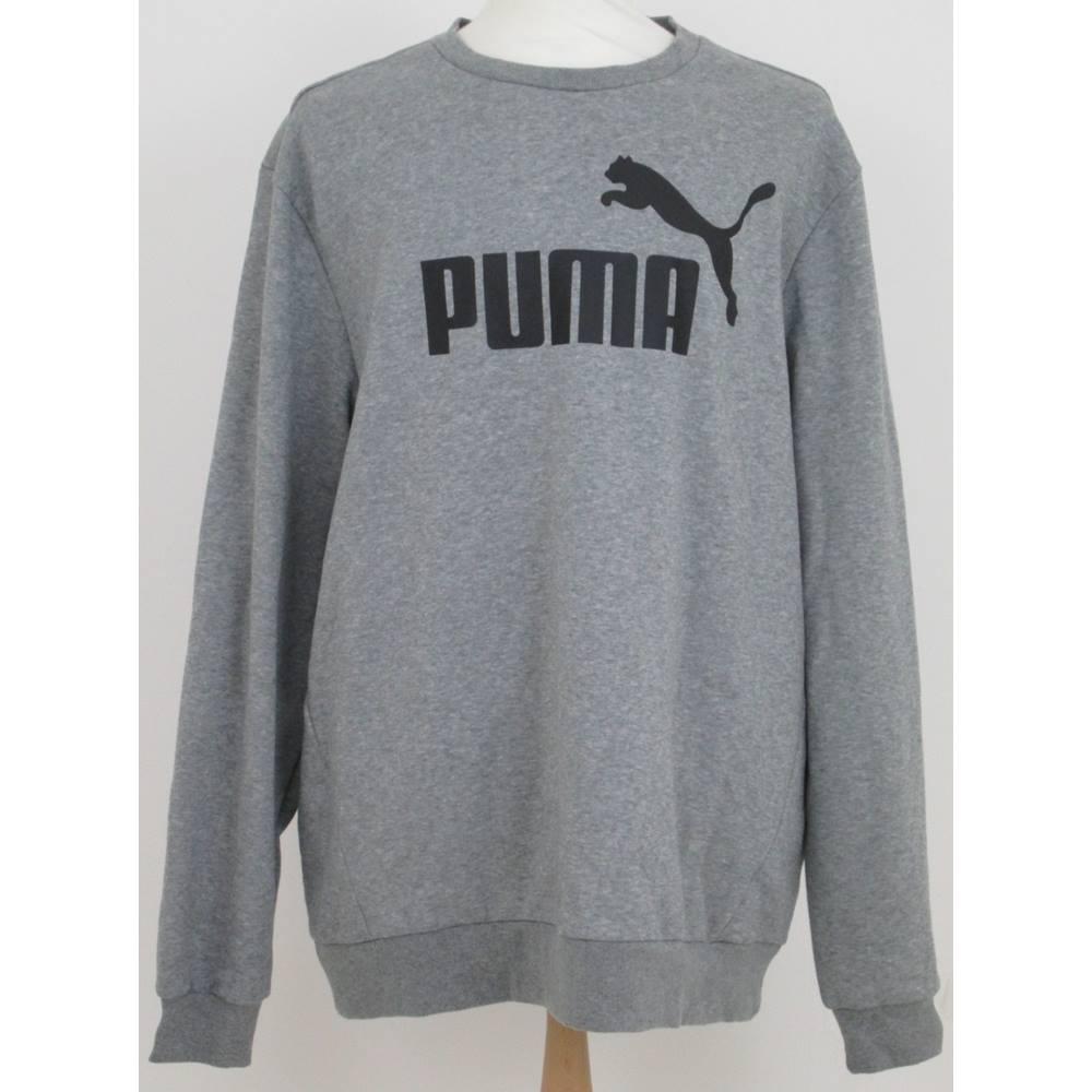 0a46905bd43 BNWT Puma Size: XXXL Grey Heather Sweatshirt | Oxfam GB ...