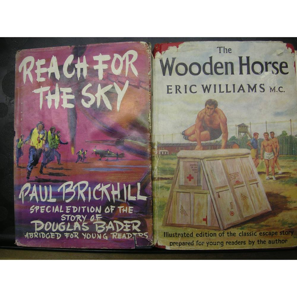 Reach For The Skythe Wooden Horse Paul Brickhill And Eric Williams Oxfam Gb Oxfams Online Shop