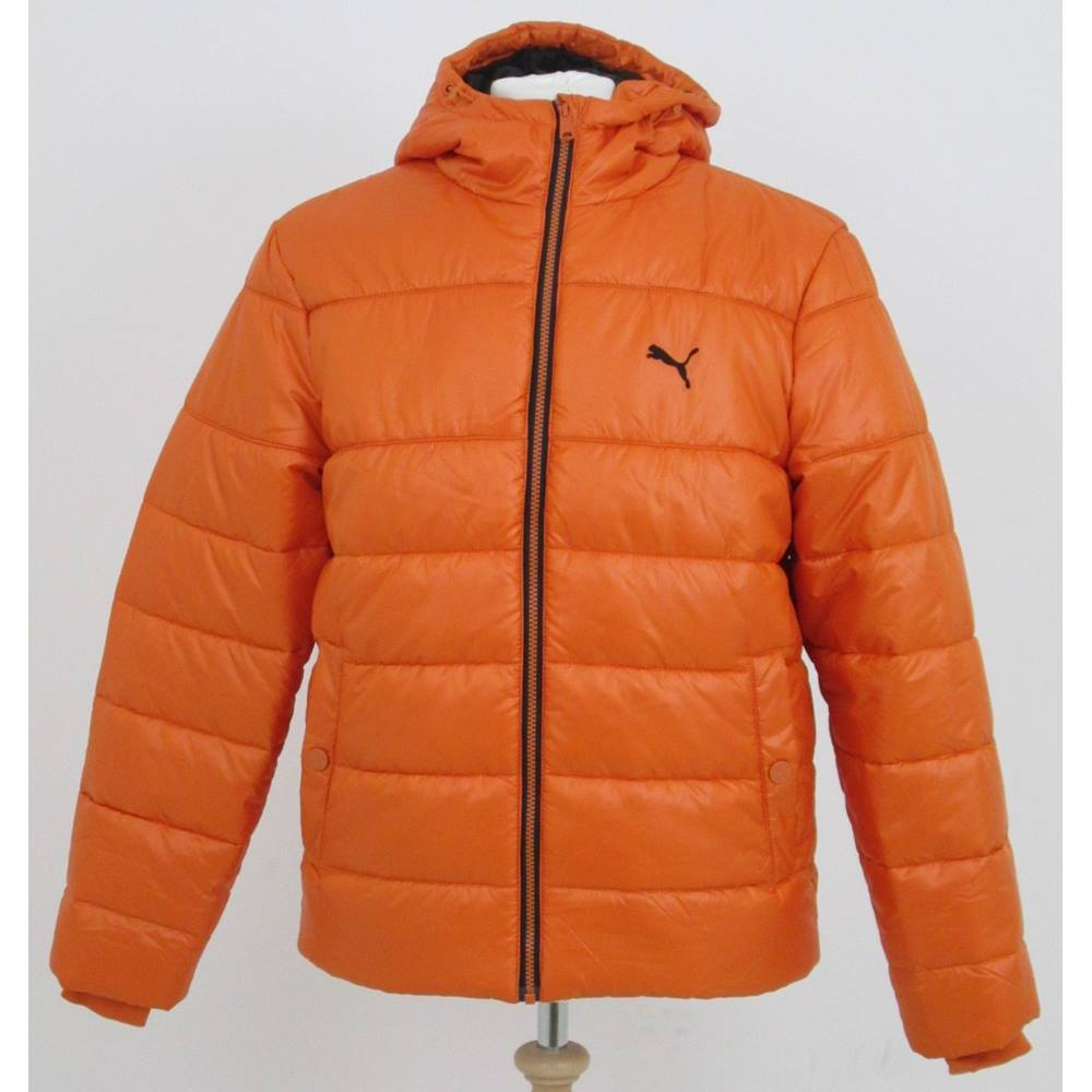 948e231adc3f Puma size  S orange padded jacket. Loading zoom
