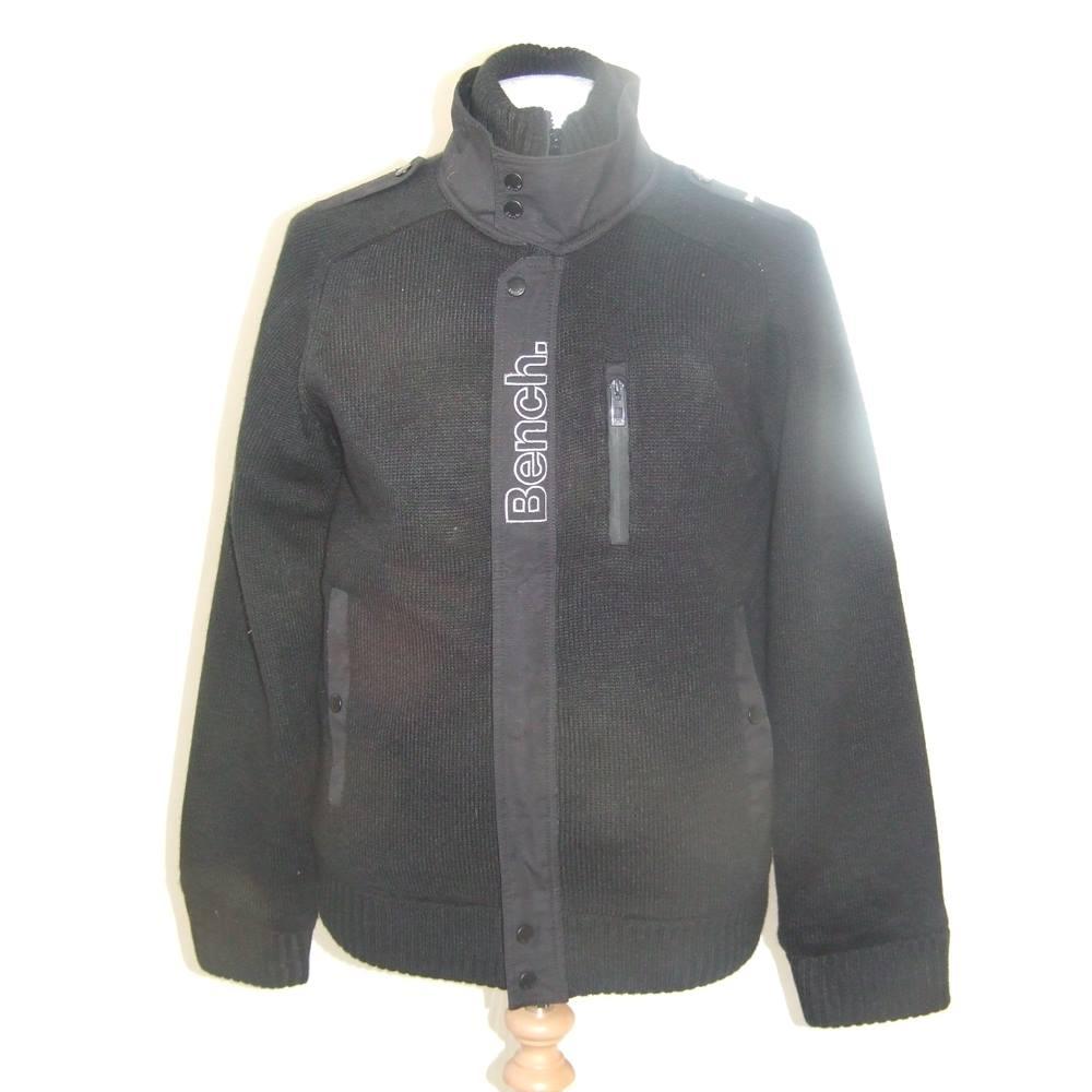 9fc5cb2d Bench Black Mens Jacket Size Medium Bench - Size: M - Black - Coat | Oxfam  GB | Oxfam's Online Shop