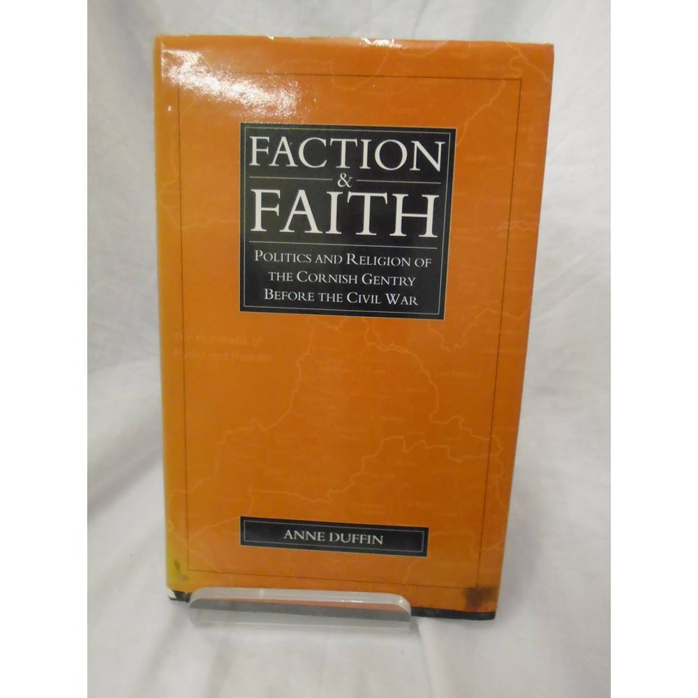 Preview of the first image of Faction and Faith (signed by author).