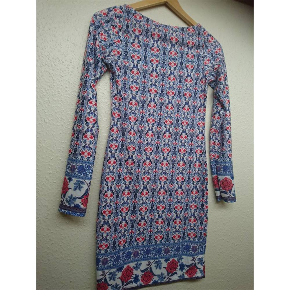 1f5df4f959a Boohoo Size: 10 - red, white and blue tunic dress | Oxfam GB | Oxfam's ...