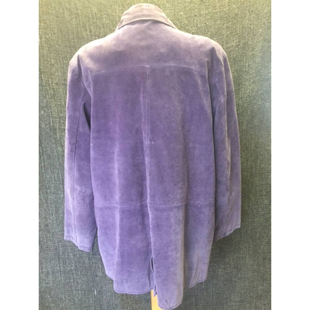 861e8c3641 Women s Purple 100% Leather Beth Terrell Jacket. Loading zoom. Rollover to  zoom