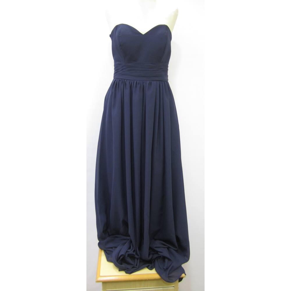 2648174a8d Stacees - Size  10 - Blue - Full length dress