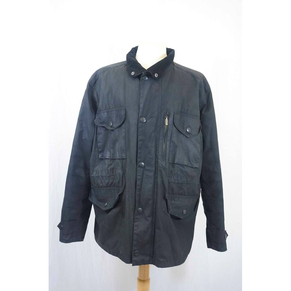 Barbour Sapper Jacket >> Olive Green Barbour Sapper Jacket In An Xl Size Oxfam Gb Oxfam S