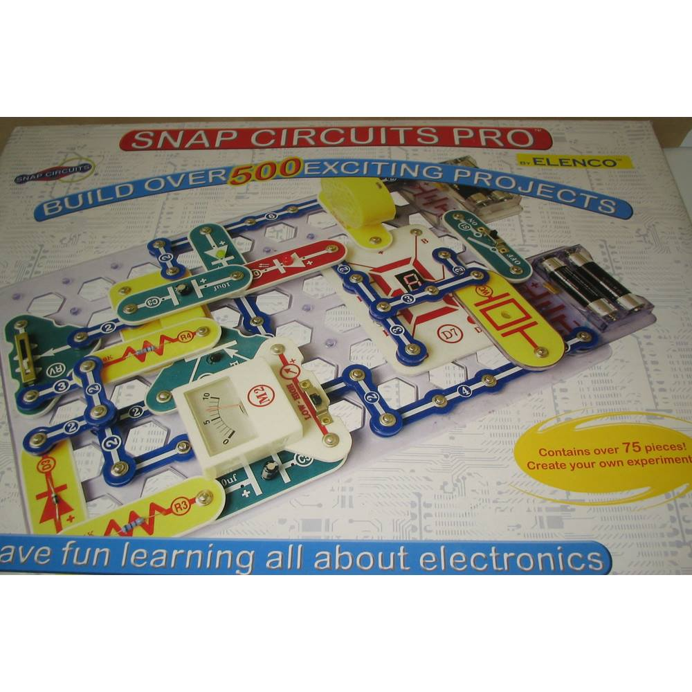 Elenco Snap Circuits Pro Have Fun Learning All About Electronics Sound Loading Zoom