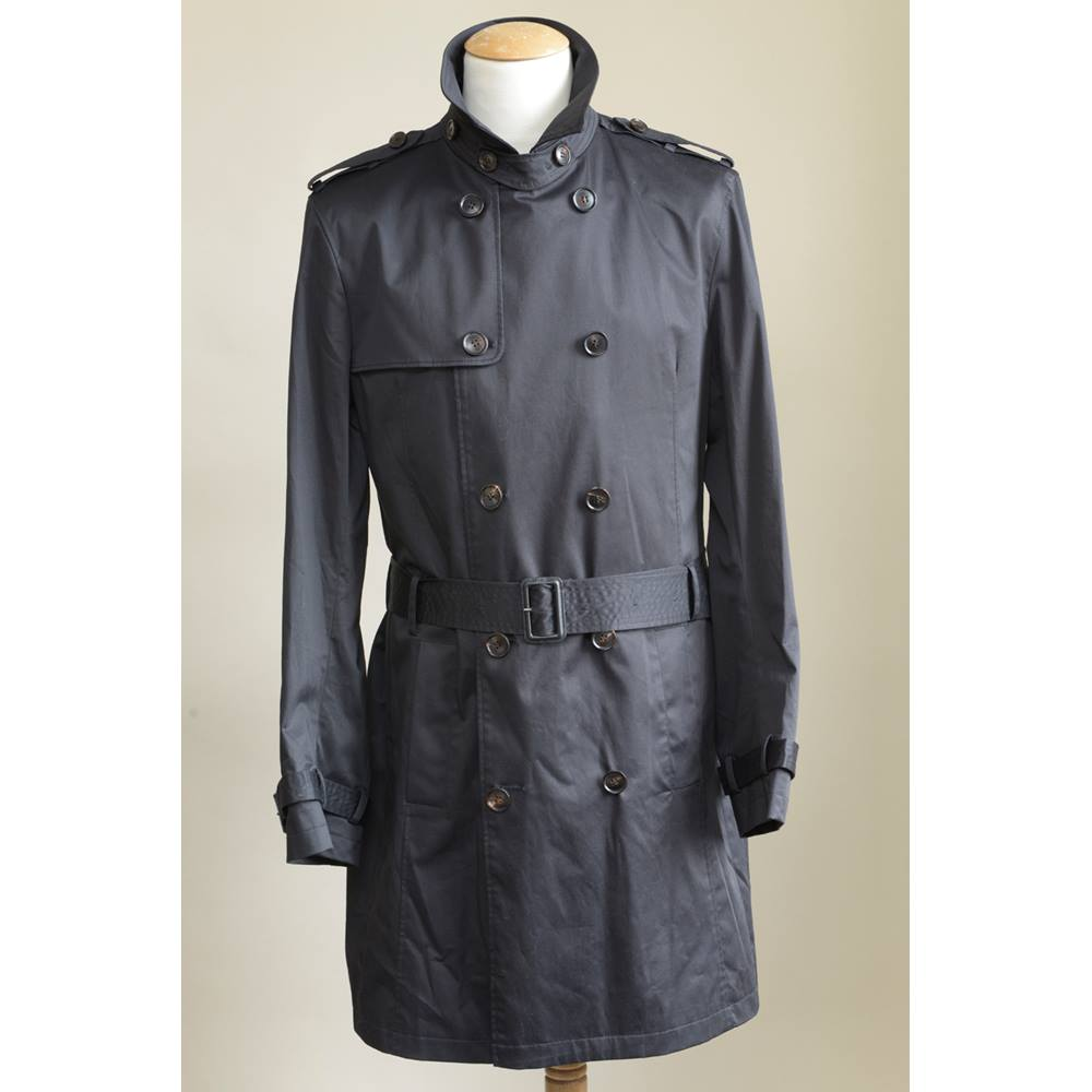 9df6061ee Black Ted Baker Men s Trench Coat Ted Baker - Size  M - Black ...